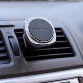 Capdase Magnetic Mount Squarer - Vent Clip for Air Vent (Space Grey / Black)